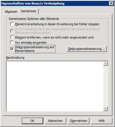 Verknüpfung via Gruppenrichtlinie - Reiter Gemeinsam